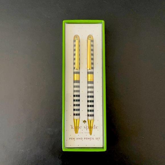 Kate Spade pen and pencil set